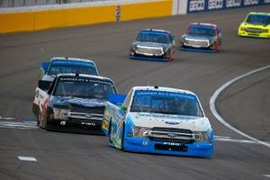 Todd Gilliland, Front Row Motorsports, Ford F-150 pneumatech, Tanner Gray, DGR-Crosley, Ford F-150 Ford Performance