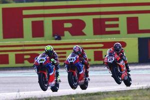 Alvaro Bautista, Team HRC, Leon Haslam, Team HRC, Scott Redding, Aruba.it Racing Ducati