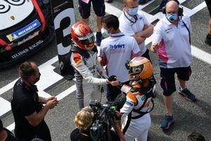 Le vainqueur Larry ten Voorde, Team GP Elite
