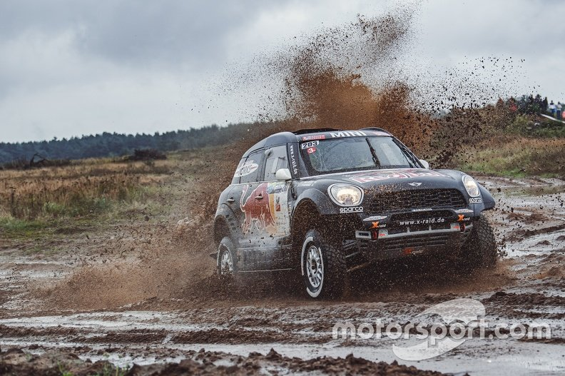 Stephane Peterhansel, Edouard Boulanger, MINI All 4 Racing