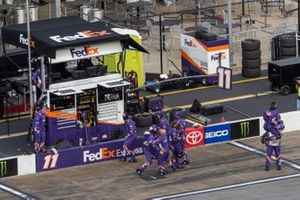 Siegerjubel: Joe Gibbs Racing