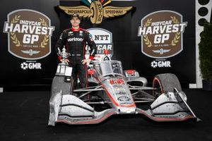Podio: ganador Will Power, Team Penske Chevrolet