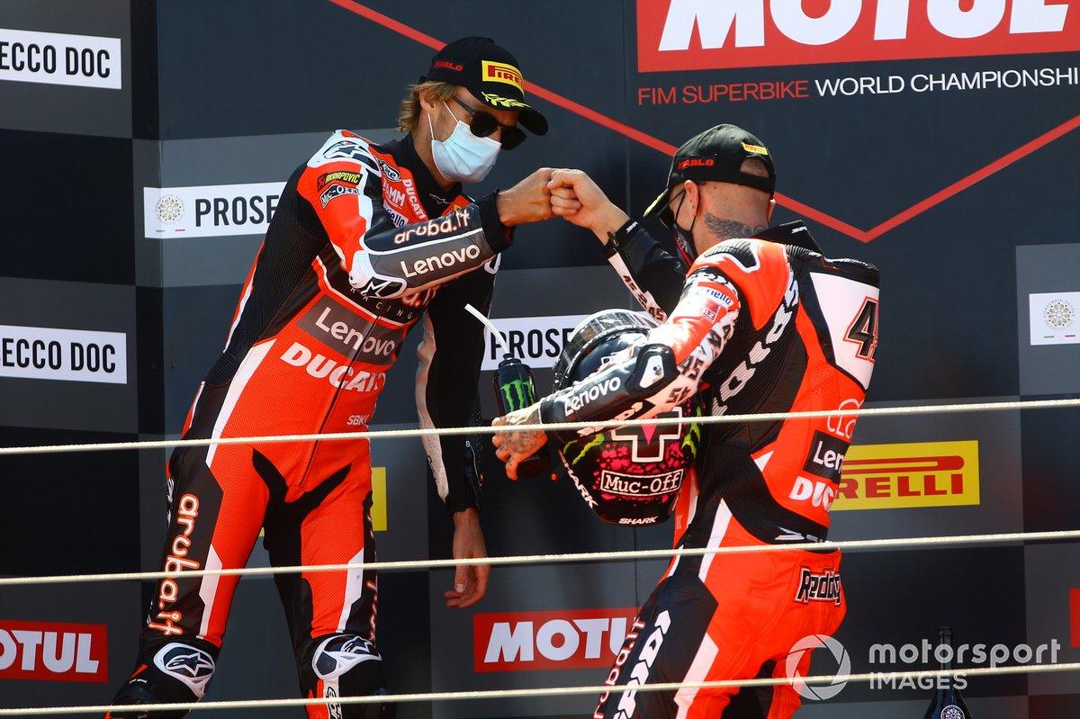 Chaz Davies, Arubait Racing Ducati, Scott Redding, Arubait Racing Ducati