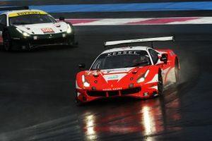 #74 Kessel Racing Ferrari F488 GTE EVO: Michael Broniszewski, Marcos Gomes, David Perel