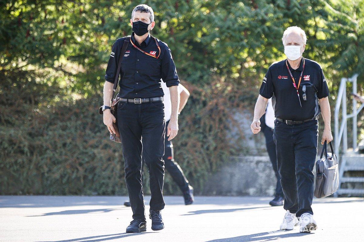 Гюнтер Штайнер и Джин Хаас, Haas F1