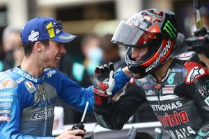 Joan Mir, Team Suzuki MotoGP Fabio Quartararo, Petronas Yamaha SRT