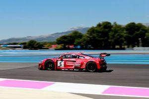 #5 Phoenix Racing Audi R8 LMS GT3 Evo: Finlay Hutchison, Kim Luis Schramm, Ivan Pareras