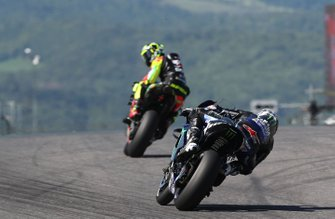 Maverick Vinales, Yamaha Factory Racing, Andrea Iannone, Aprilia Racing Team Gresini