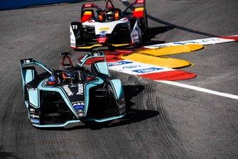 Mitch Evans, Panasonic Jaguar Racing, Jaguar I-Type 3, Lucas Di Grassi, Audi Sport ABT Schaeffler, Audi e-tron FE05