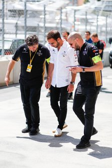 Jean-Eric Vergne, DS TECHEETAH,on a track walk
