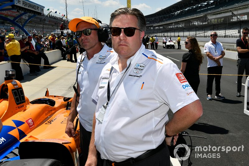 Fernando Alonso, McLaren Racing Chevrolet, Zak Brown