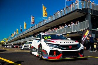 #24 Wall Racing, John Martin, Honda Civic Type R
