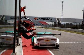 Le vainqueur Nico Müller, Audi Sport Team Abt Sportsline, Audi RS 5 DTM