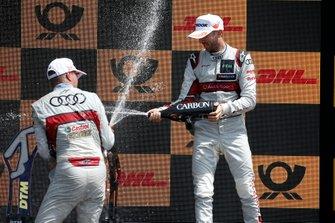 Podium: Nico Müller, Audi Sport Team Abt Sportsline et René Rast, Audi Sport Team Rosberg