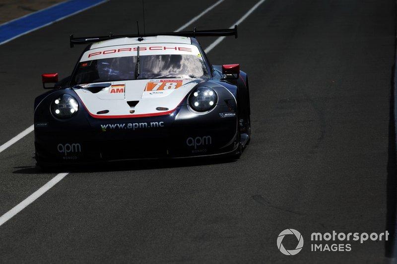 #78 Dempsey-Proton Competition Porsche 911 RSR: Louis Prette, Philippe Prette, Vincent Abril