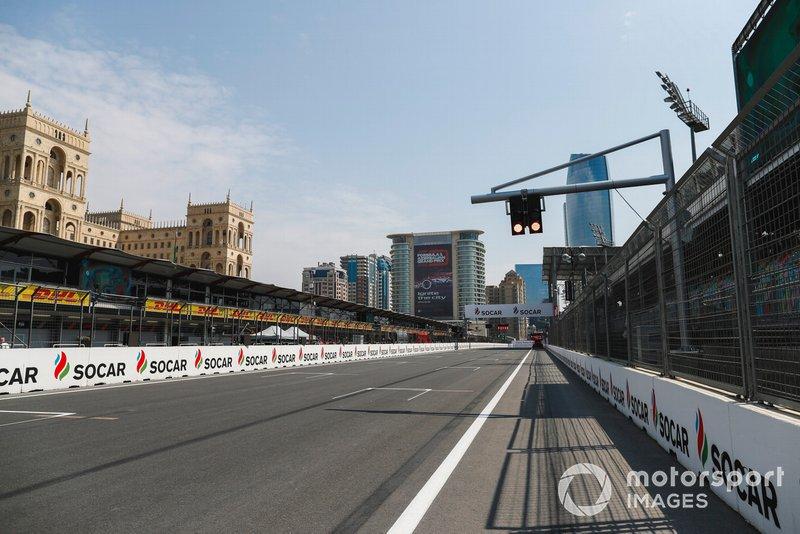 El circuito de Bakú