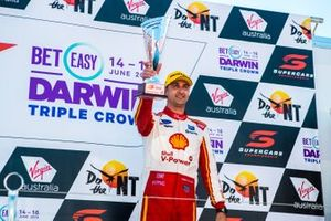 Podium: third place Fabian Coulthard, DJR Team Penske Ford