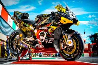 Bike von Francesco Bagnaia, Pramac Racing, im Lamborghini-Design