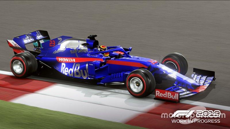 Toro Rosso de Alexander Albon