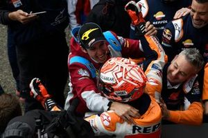 1. Marc Marquez, Repsol Honda Team, mit Bruder Alex Marquez
