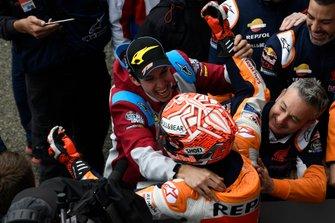 Marc Marquez, Repsol Honda Team met Alex Marquez, Marc VDS