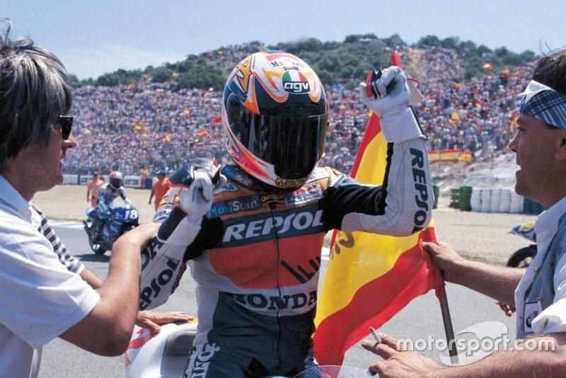 Alex Criville, primer español que ganó con Honda