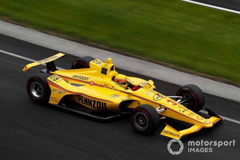 Platz 18: Helio Castroneves, Team Penske Chevrolet