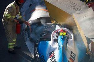 Robert Kubica, Williams crash