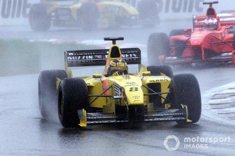 1998 Heinz-Harald Frentzen. Jordan 199
