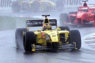 Heinz-Harald Frentzen. Jordan 199