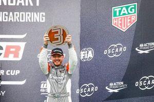 Podium: Daniel Haglöf, PWR Racing CUPRA TCR