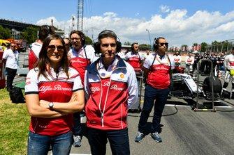 Alfa Romeo Racing personnel