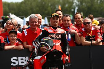 Chaz Davies, Aruba.it Racing-Ducati Team en pole