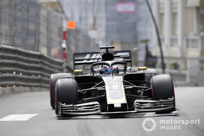 13: Romain Grosjean, Haas F1 Team VF-19, 1'12.027