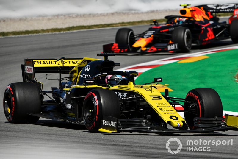 12 місце — Даніель Ріккардо, Renault. Умовний бал — 8,47