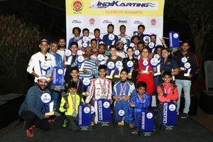 IndiKarting category winners