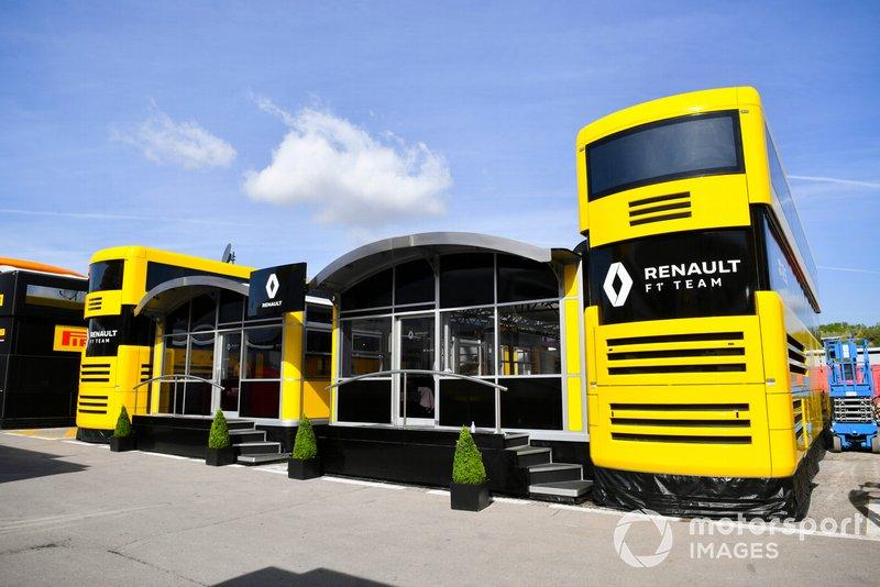 Le motorhome Renault