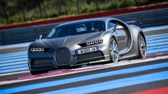 Bugatti Chiron, Circuit Paul Ricard
