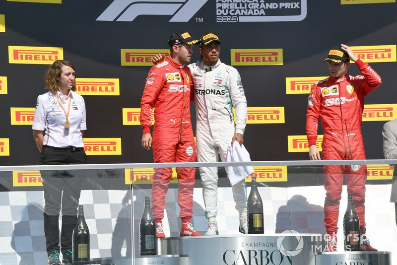 GP de Canadá - 2° Vetel y 3° Leclerc