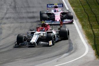 Antonio Giovinazzi, Alfa Romeo Racing C38, Lance Stroll, Racing Point RP19