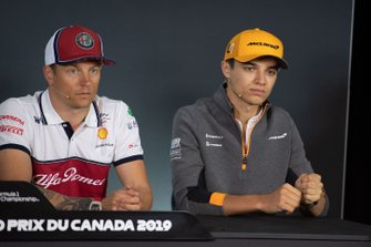 Kimi Raikkonen, Alfa Romeo Racing, Lando Norris, McLaren