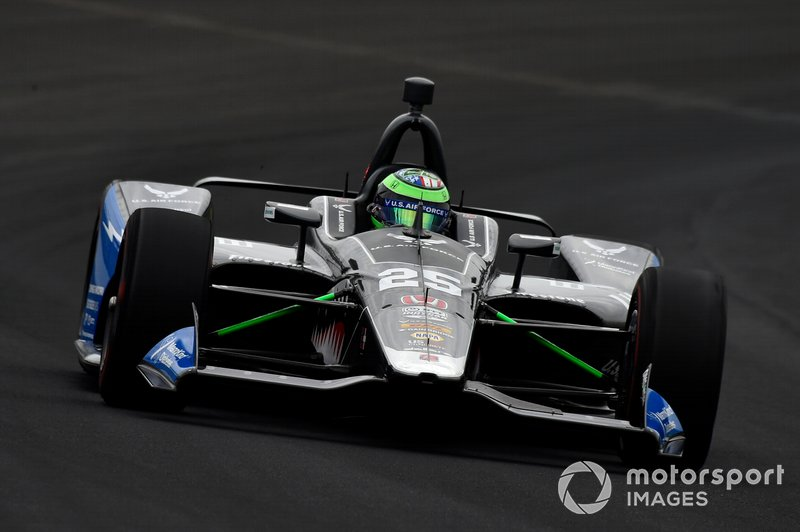 11º: #25 Conor Daly, United States Air Force, Andretti Autosport Honda: 228.617 mph