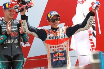 2. Marc Marquez, Repsol Honda Team, 3. Fabio Quartararo, Petronas Yamaha SRT