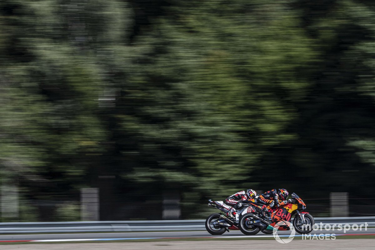 Brad Binder, Red Bull KTM Factory Racing, Takaaki Nakagami, Team LCR Honda