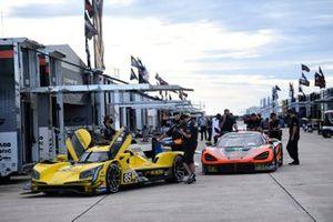 #85 JDC-Miller Motorsports Cadillac DPi, DPi: Stephen Simpson, Tristan Vautier, #76 Compass Racing McLaren 720S GT3, GTD: Corey Fergus, Paul Holton