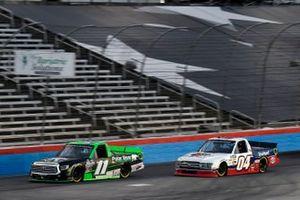 Spencer Davis, Spencer Davis Motorsports, Toyota Tundra and Cory Roper, Roper Racing, Ford F-150 CarQuest