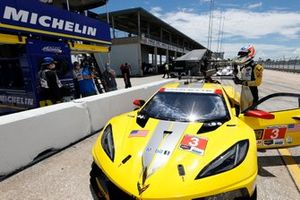 Pole GTLM: #3Corvette Racing Corvette C8.R: Jordan Taylor
