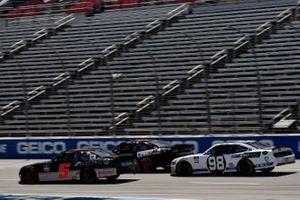 Matt Mills, B.J. McLeod Motorsports, Chevrolet Camaro JF Electric and Chase Briscoe, Stewart-Haas Racing, Ford Mustang Ford Performance Racing School