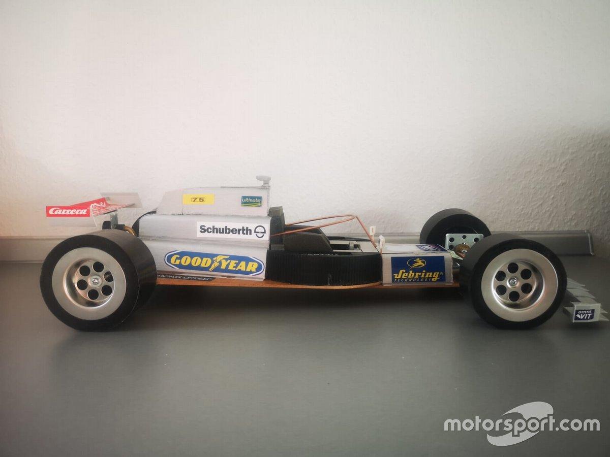 F1-project van Sven Krieter in coronatijd