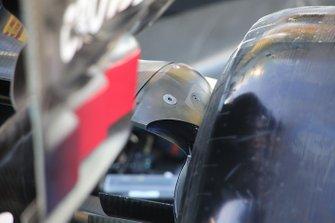 Mercedes F1 W11 rear detail